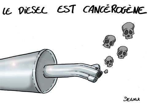 Diesel cancerogene