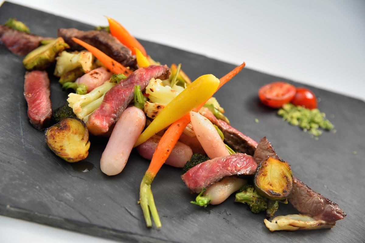 Sauté de boeuf aux petits légumes