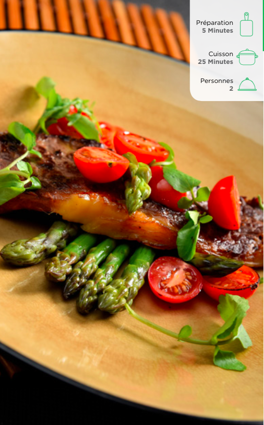 steak-asperges